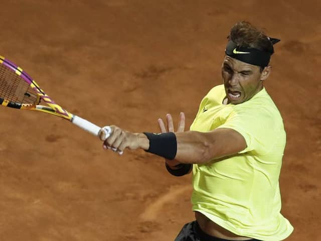 Italian Open: Rafael Nadal, Novak Djokovic Make Winning Returns In Rome