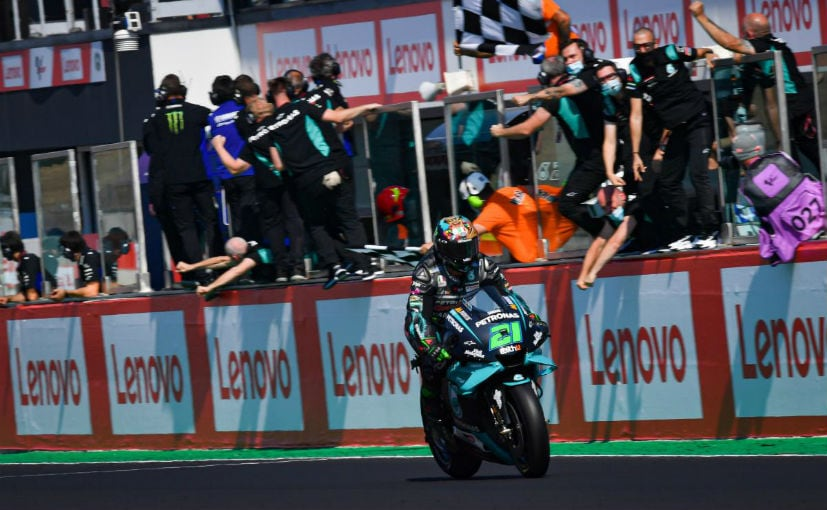 Franco Morbidelli became the fourth different rider to win a race in MotoGP this season