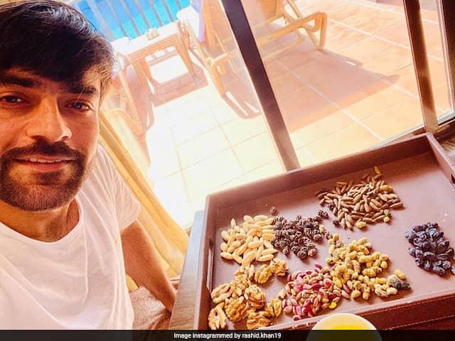 Dried Fruits, Zaffran Tea: How Rashid Khan Is Keeping Busy In Quarantine