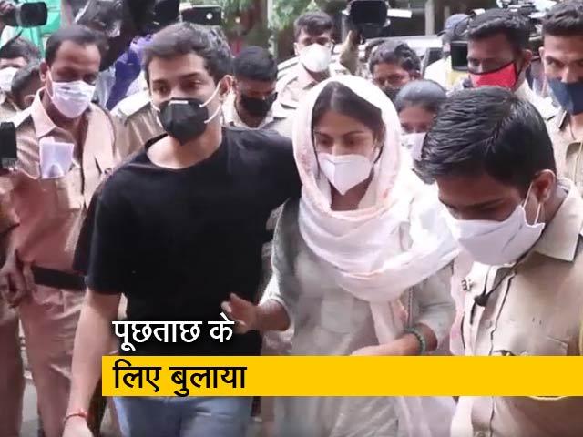 Video : ड्रग्स रैकेट : रिया चक्रवर्ती के घर NCB टीम