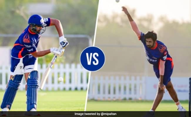 IPL 2020 Rohit Sharma vs jasprit Bumrah is happening, who will win the battle find out in Video