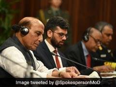 रक्षा मंत्री राजनाथ सिंह आज रात अपने चीनी समकक्ष से मॉस्को में करेंगे मुलाकात: सूत्र