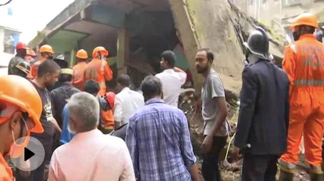 Video | भिवंडी में चार मंजिला इमारत गिरने से 8 लोगों की मौत