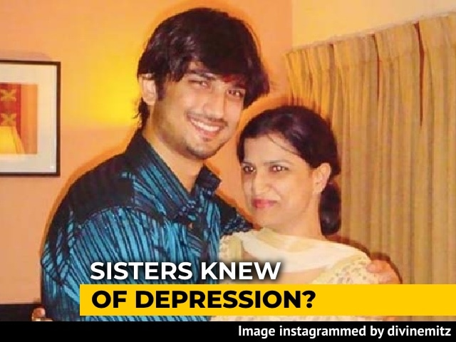 """Video : Since 2013, Knew Sushant Singh Rajput Was """"Very Low"""": Sister To Mumbai Cops"""