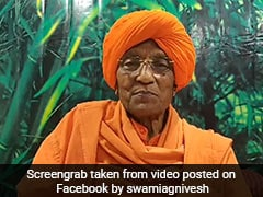 """Powerful Voice For Vulnerable"": Sonia Gandhi's Tribute To Swami Agnivesh"
