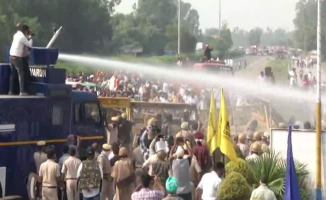 Haryana Farmers Block Roads In Protest Against New Farm Bills