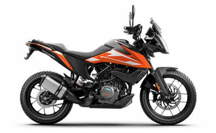 The KTM 250 Adventure will look more or less the same as the KTM 390 Adventure