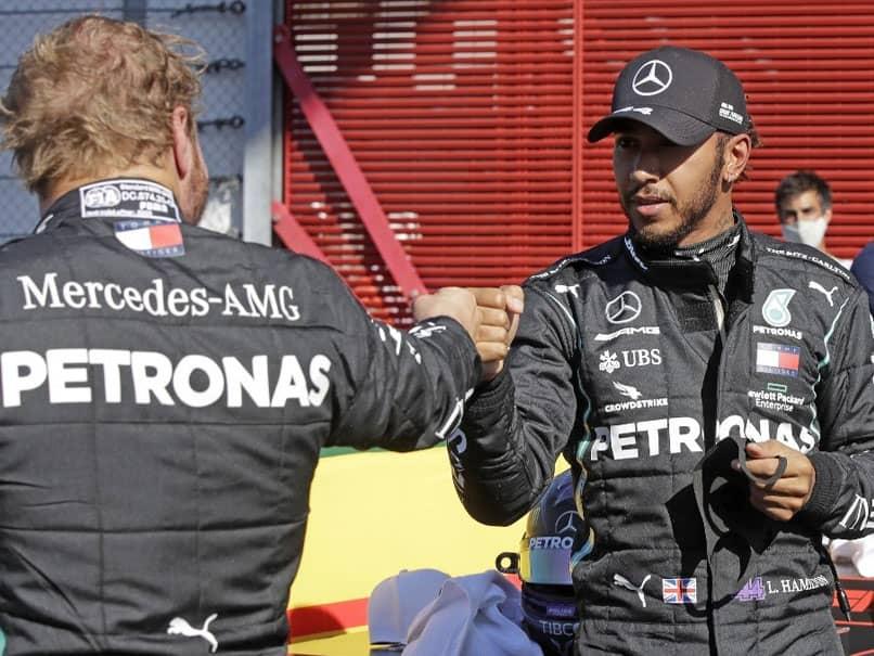 Tuscan Grand Prix: Lewis Hamilton Takes Pole As Mercedes Lock-Out Front Row