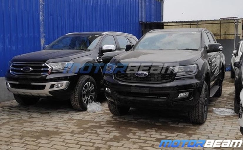 The Ford Endeavour Sport Edition was spotted at a dealership yard, which indicates the launch is imminent