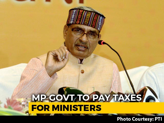 Video : Madhya Pradesh To Pay Income Tax On Chief Minister, Council's Salaries