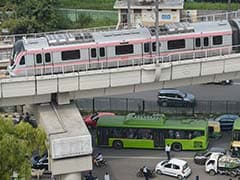 Red, Green And Violet Lines Of Delhi Metro Resume Service
