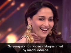 Madhuri Dixit ने ब्लैक साड़ी में 'धक धक करने लगा' सॉन्ग पर किया जबरदस्त डांस, बार-बार देखा जा रहा है Video