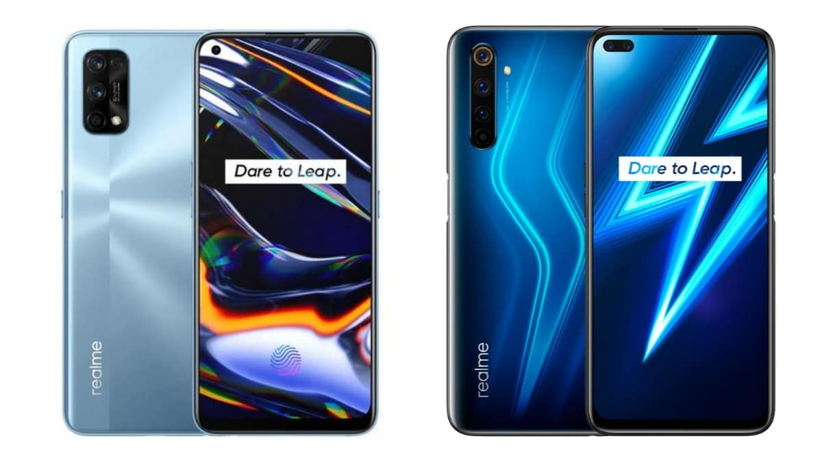 How different are Realme 7 Pro and Realme 6 Pro from each other? |