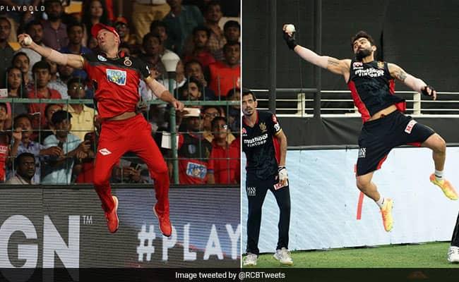 IPL 2020: Virat Kohli Recreates AB De Villiers Famous Superman Catch During RCB Training Session watch video