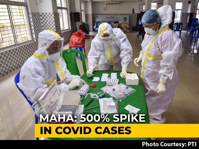Video : 5 Maharashtra Districts See Nearly 500% Spike In COVID-19 Cases