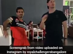 """Gangsta Mode"": RCB Share Groovy Video Of Yuzvendra Chahal, Chris Morris Ahead Of IPL 2020. Watch"