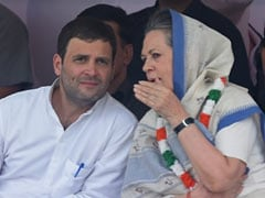 Sonia Gandhi, Son Rahul In Congress Star Campaigners List For Bihar Polls