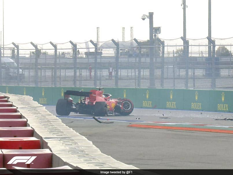 Russian Grand Prix: Sebastian Vettel Carries Out Personal Risk Assessment After Sochi Qualifying Smash