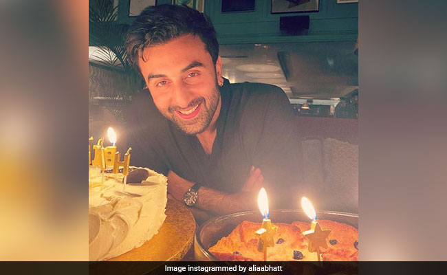 To Birthday Boy Ranbir Kapoor, With Love From Alia Bhatt