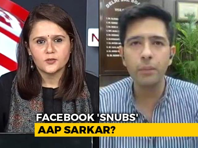 Video : AAP Issues Final Warning After Facebook Skips Delhi Panel Hearing