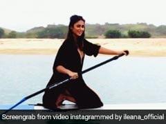 इलियाना डिक्रूज करवा रही थीं फोटोशूट लेकिन कैमरा देखते किया कुछ ऐसा, VIDEO हुआ वायरल