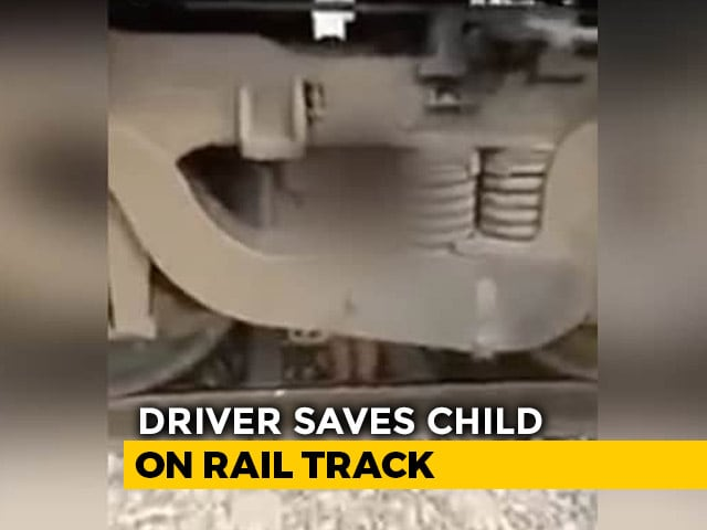 Video : Boy, 2, Miraculously Survives As Train Runs Over Him