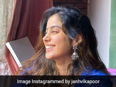 Janhvi Kapoor Brings In Colourpop To Ethnic Looks In A Pretty Bandhani Kurta Set