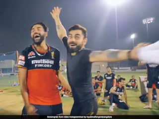 IPL 2020: RCB Bowlers Wow Skipper Virat Kohli During Fun Bowling Challenge. Watch