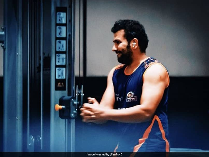 "IPL 2020: ""Hit The Gym Like Its A Short Ball"": Rohit Sharma Get Into Serious Action Ahead Of Tournament"