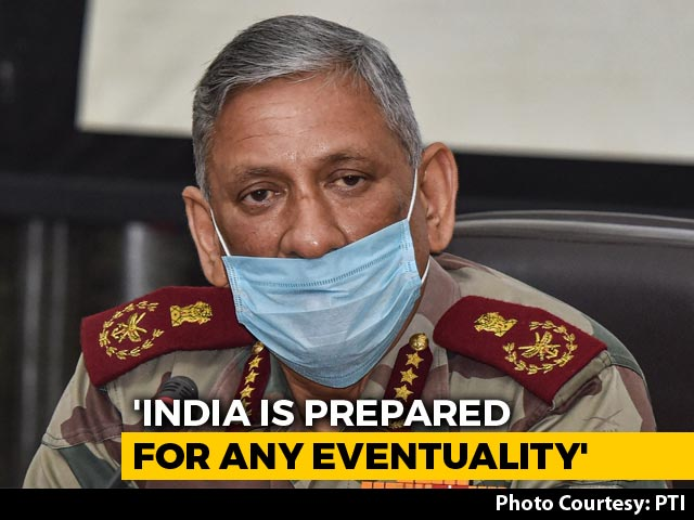 "Video : ""Armed Forces Ready For Anything"": General Rawat To MPs On China Row"