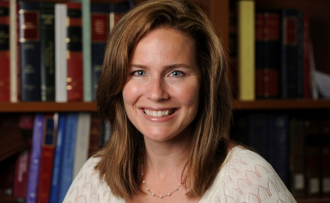 Donald Trump To Nominate Judge Amy Coney Barrett To Succeed Ginsburg: Report