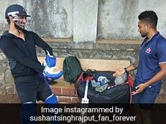 सुशांत सिंह राजपूत जब पहाड़ों के बीच छत पर खेलने लगे क्रिकेट, खूब वायरल हो रहा थ्रोबैक Video