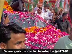 Kamal Nath Holds Road Show In Jyotiraditya Scindia's Bastion Gwalior Ahead Of Bypolls