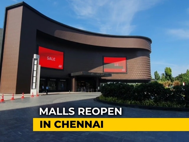 Video : Chennai Malls Reopen With New Safety Norms, Visitors Reluctant