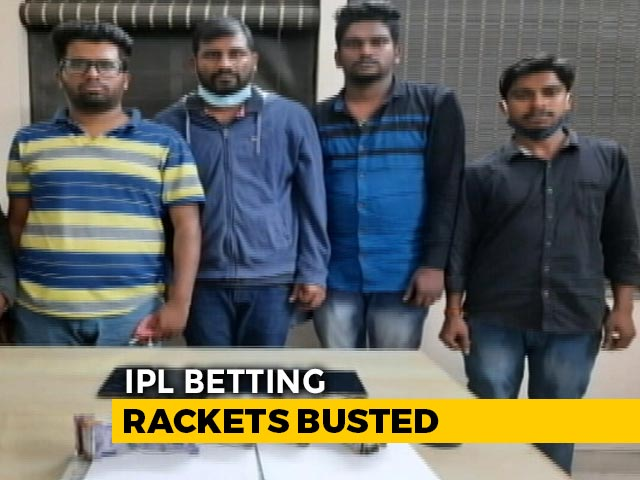 Video : Bengaluru's Central Crime Branch Arrests 6 For Allegedly Betting On IPL