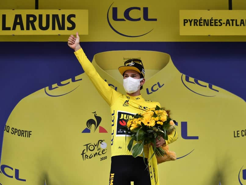 Tour de France: Primoz Roglic Takes Tour Lead As Tadej Pogacar Grabs Stage