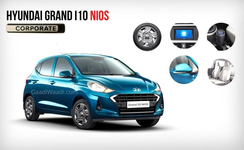 The Hyundai Grand i10 Nios Corporate edition will be based on the Magna variant of the hatchback