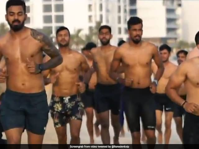 Kings XI Punjab Players Enjoy Downtime Amid IPL 2020 Training On A Private Beach. Watch