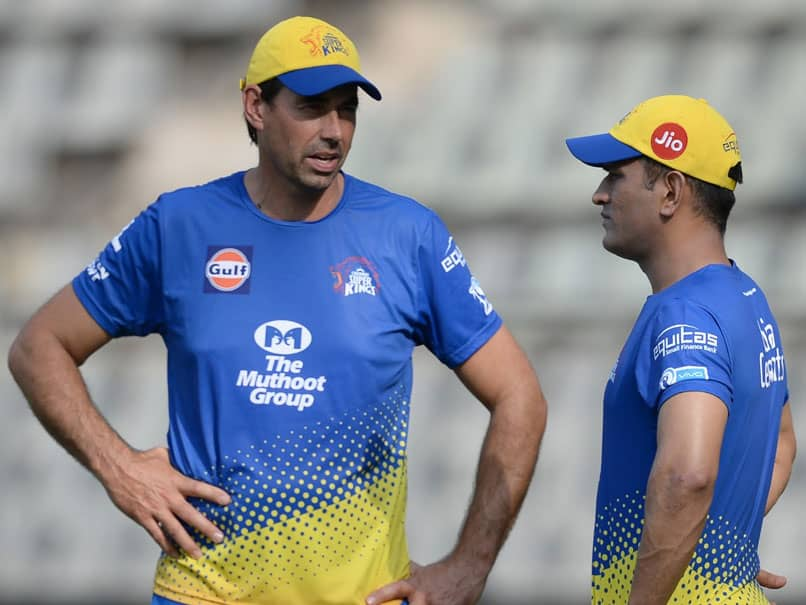 """""""MS Dhoni Very Fit And Determined"""" For IPL 2020, Says Stephen Fleming"""