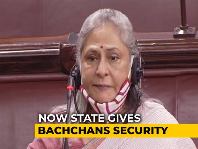 Video : Jaya Bachchan Vs Kangana Ranaut: Security Outside Bachchans' Home Beefed Up