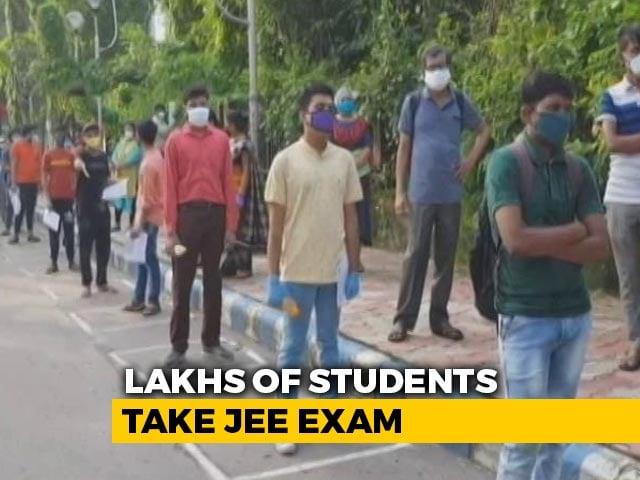 Video : Day 2 Of JEE Today, Complaints Over Transport On Day 1