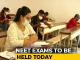 Video : Amid Covid, Nearly 16 Lakh Students To Take NEET Today