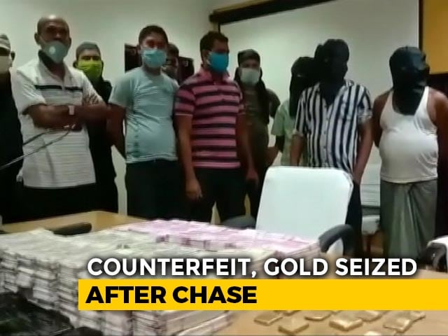 Video : Bengal Police Seize Counterfeit Notes Worth Rs 1 Crore, Gold Biscuits