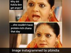 PIB Posts Funny <i>'Rasode Mein Kaun Tha'</i> Meme To Promote Protein-Rich Diet