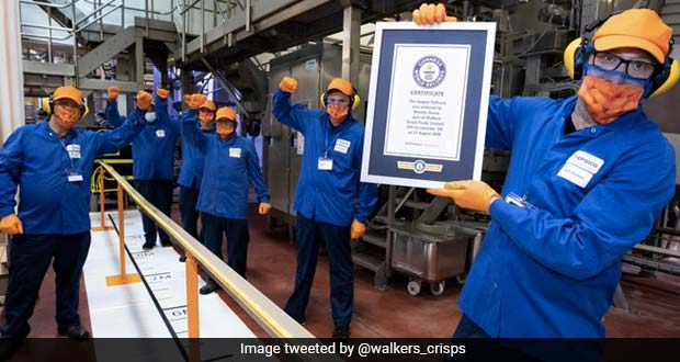 Tasty Or Weird? British Crisps Company Breaks World Record For Longest 'Puffcorn'