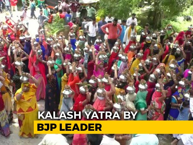 Video : Watch: No Social Distancing At BJP-Backed Procession In Covid-Hit Indore