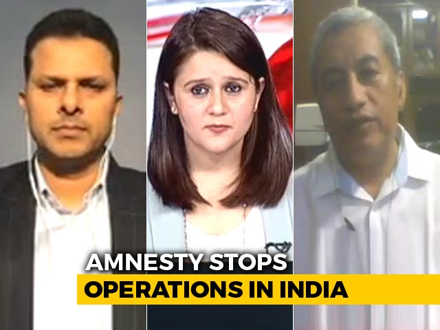 """Video : Amnesty Exits India, Alleges """"Witch-Hunt"""" By Government"""
