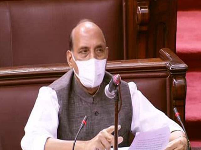 "Video : ""No One Can Stop Army From Patrolling"": On Ladakh, Rajnath Singh To MPs"