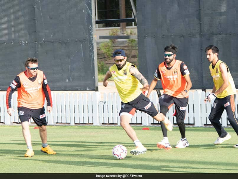 """Heard Messi Was Looking For New Teammates"": RCB Share Picture Of Virat Kohli Playing Football"