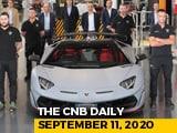Video : Lamborghini Aventador, Hero Maestro Edge 110 BS6, August Fuel Demand